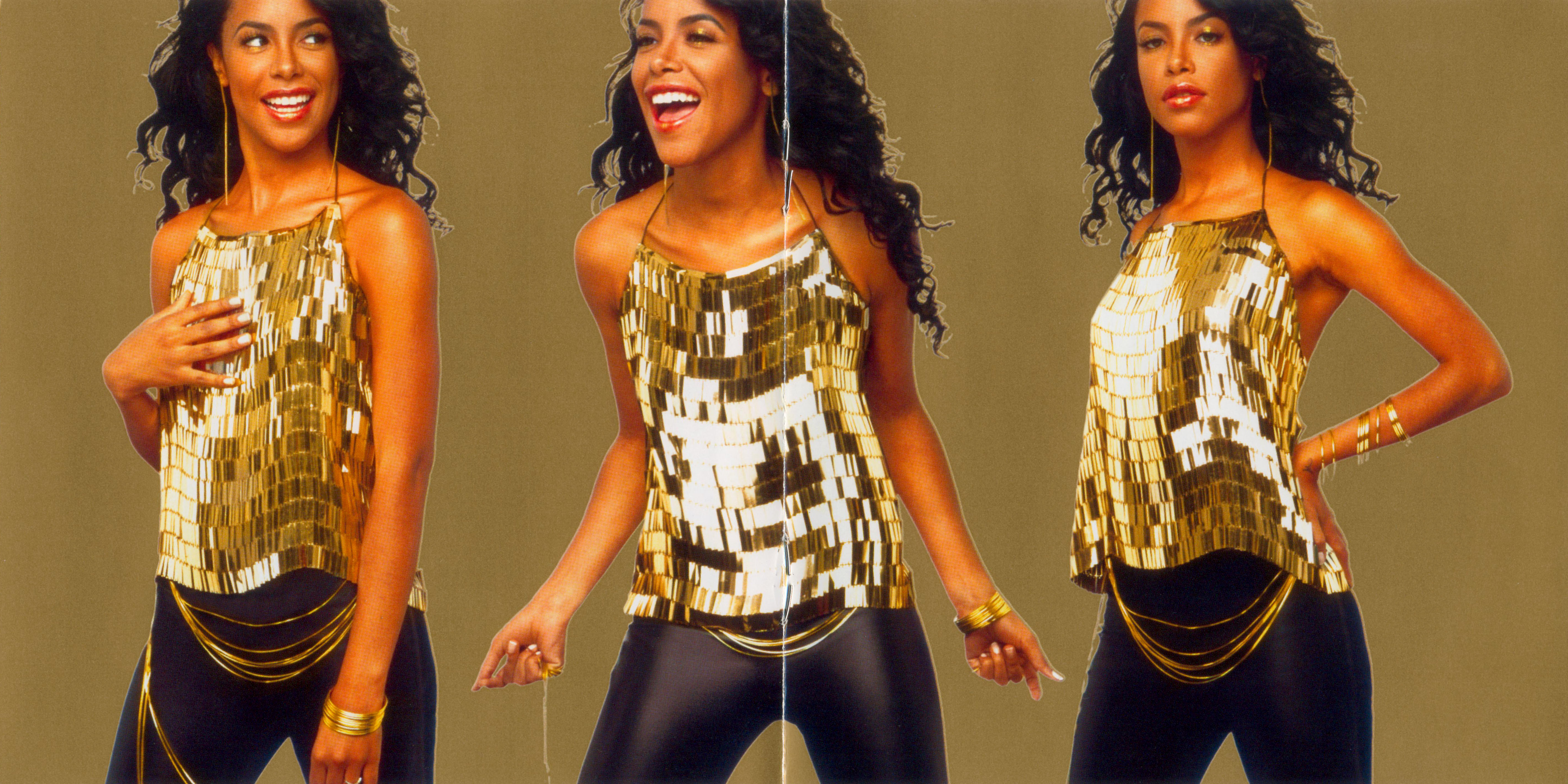Aaliyah I Care 4 U Inside Booklet