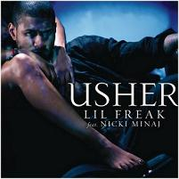 Usher Lil Freak Nicki Minaj Single Cover