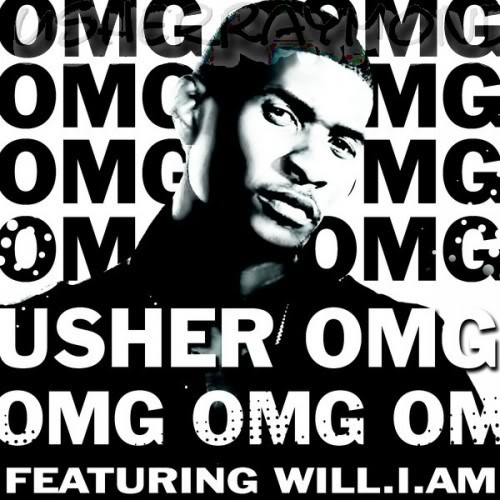 Usher OMG Single Cover