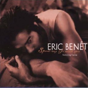 Eric Benet Spend My Life With You Single Cover