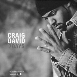 Craig David 7 Days Single Cover