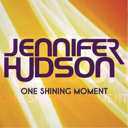 Jennifer Hudson One Shining Moment Single Cover