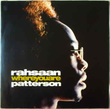 Rahsaan Patterson Where You Are
