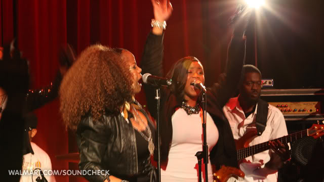 leela james walmart soundcheck