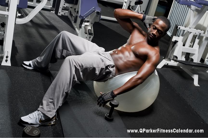 Now Available: Q. Parker (of 112) Fitness Calender
