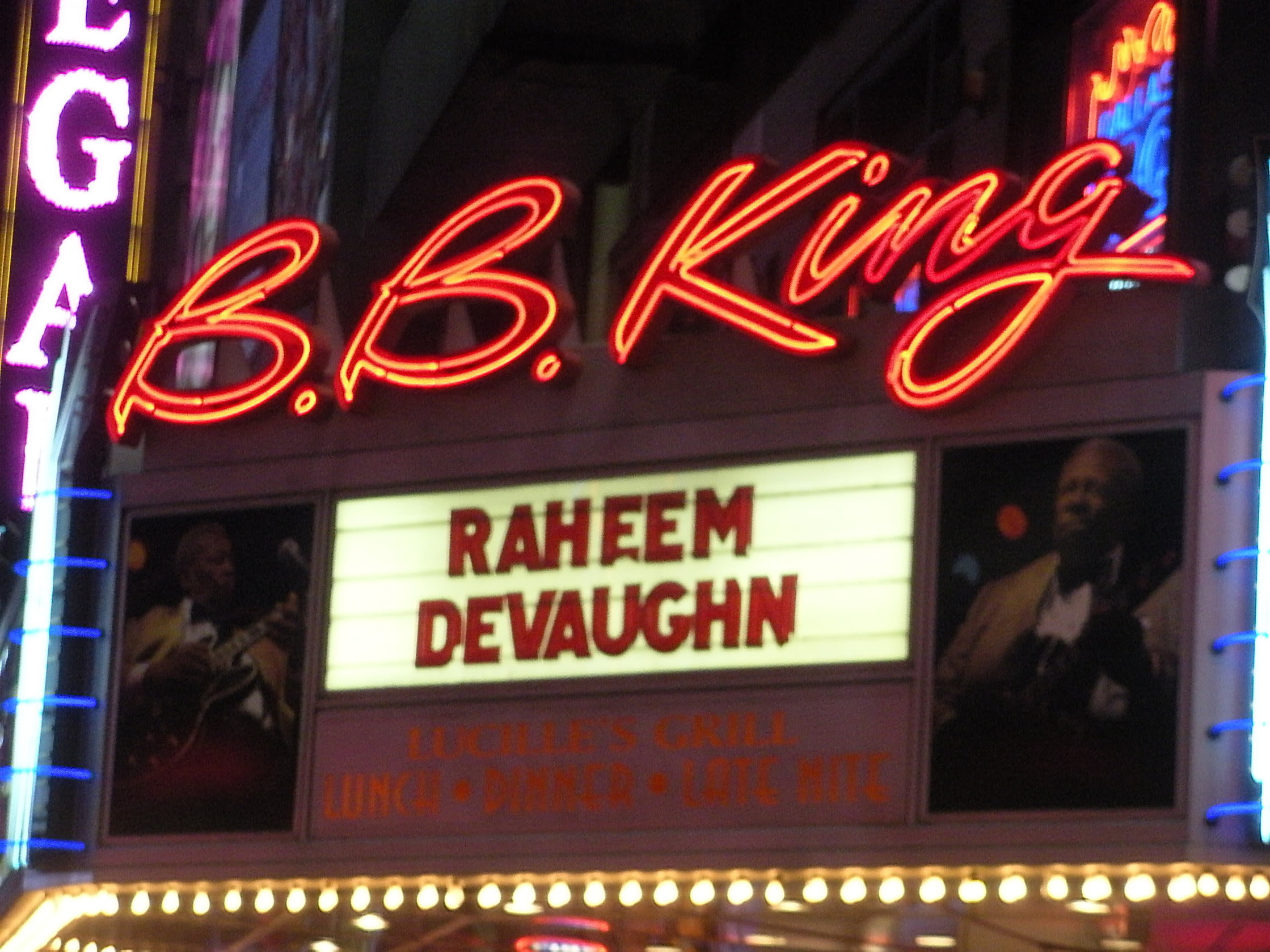 raheem devaughn live bb kings nov 2010