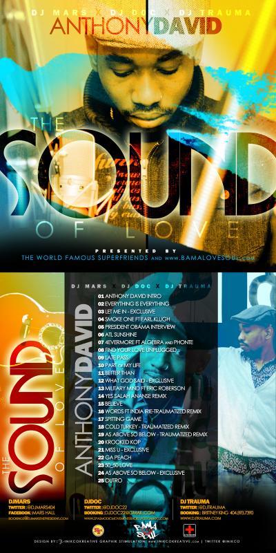 Anthony David Sound of Love Mixtape