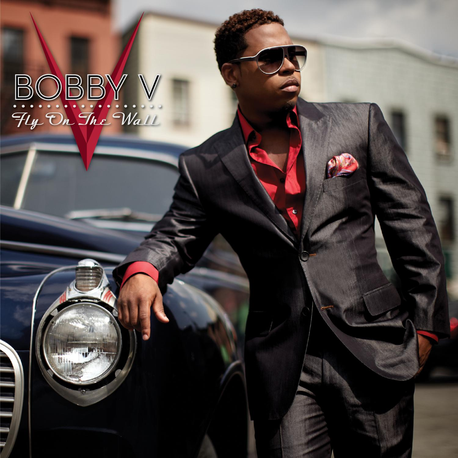 Bobby V Fly on the Wall Album Cover
