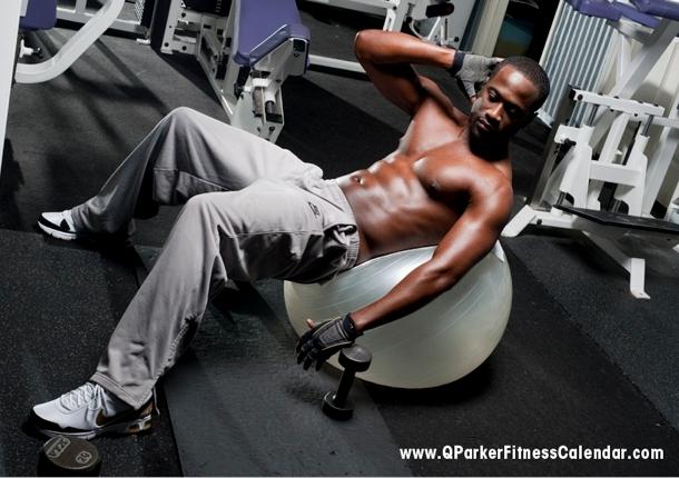 Q Parker Fitness Calendar 2011