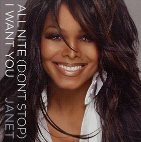 Janet Jackson All Night I Want You