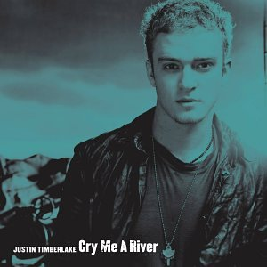Justin Timberlake Cry Me a River Single Cover