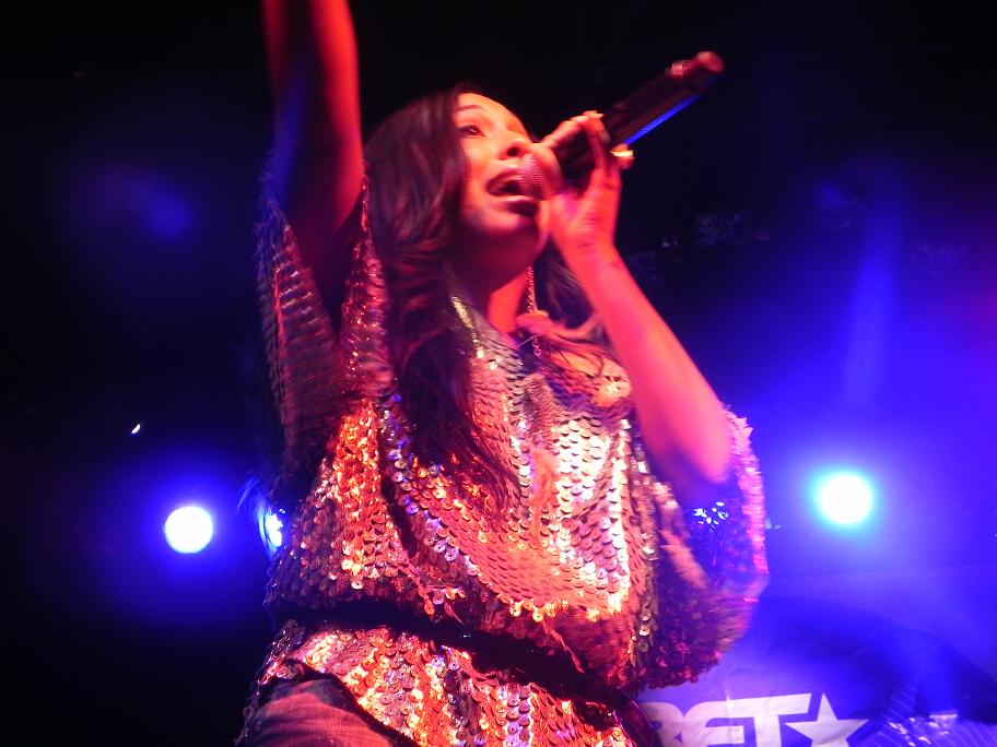 Melanie Fiona BET Music Matters Irving Plaza April 2011