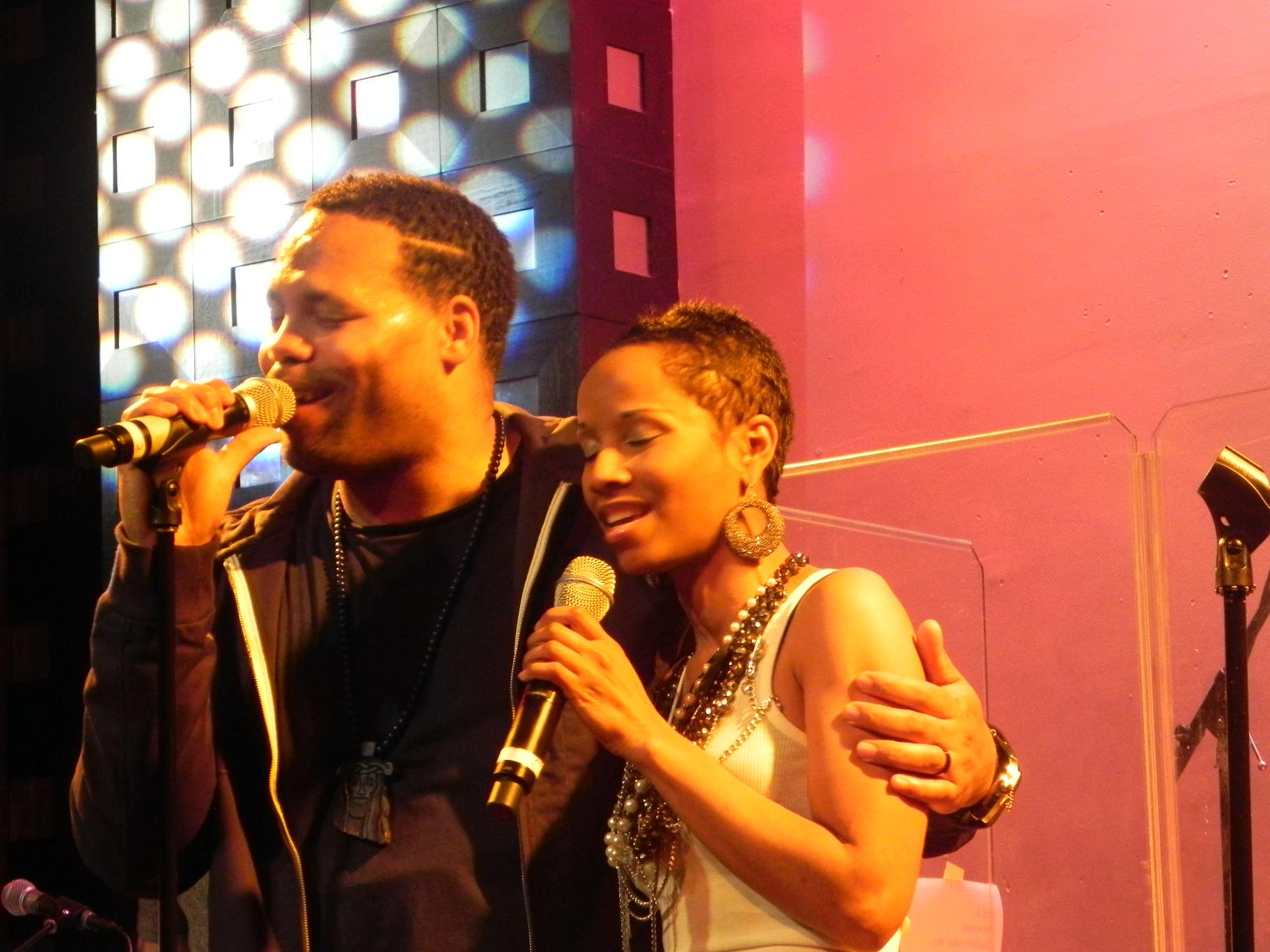 Eric Roberson Vivian Green SOBs April 2011