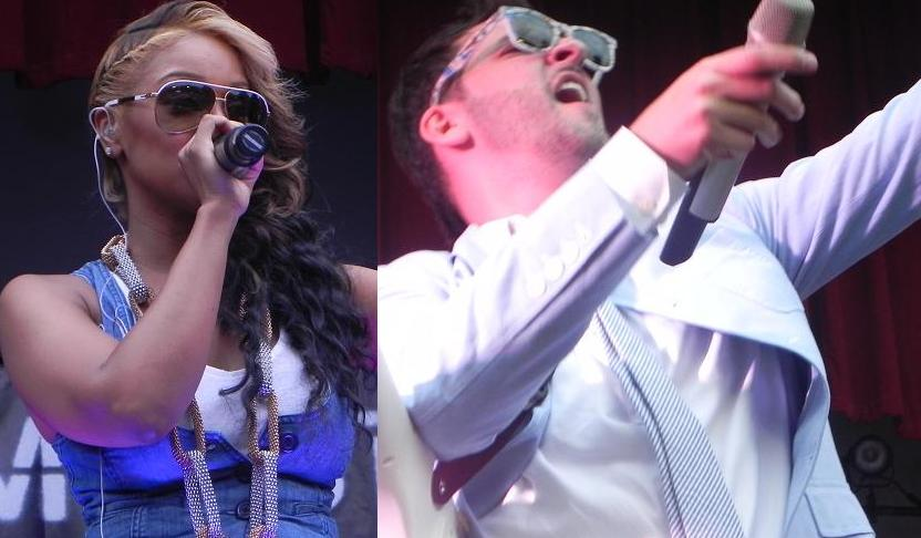 Jon B. & Olivia Perform Live in Brooklyn for Summer Stage 6/18/11