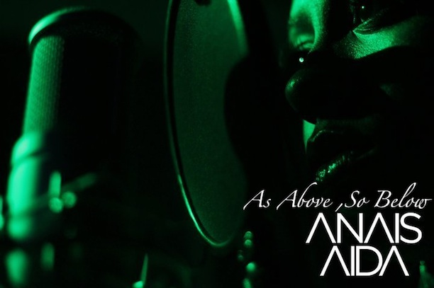 "Anais Aida ""As Above So Below"" (Anthony David Cover)"