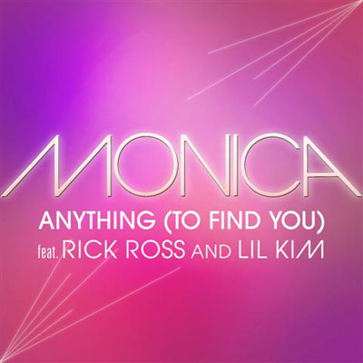 Monica Anything to Find You Single Cover