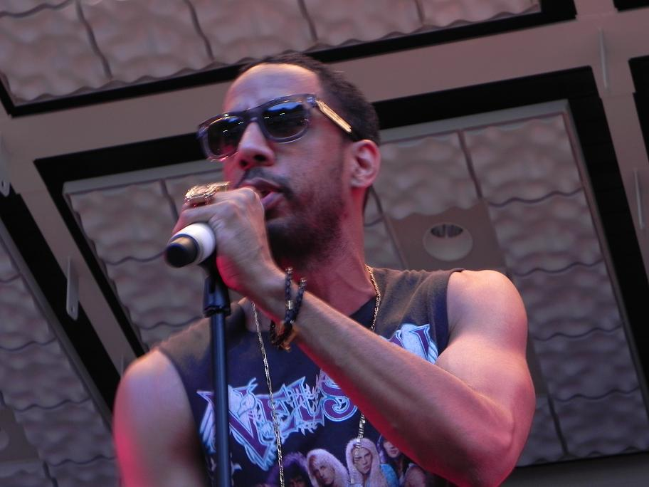 Ryan Leslie Live Central Park Summerstage Aug 2011