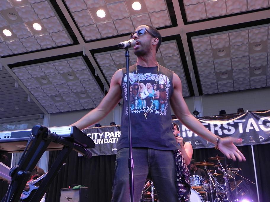 Ryan Leslie Live Central Park Summerstage Aug 2011