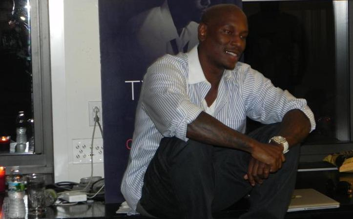 Tyrese Live Open Invitation Listening Event Sep 2011