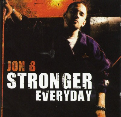 Jon B Stronger Everyday UK Album Cover