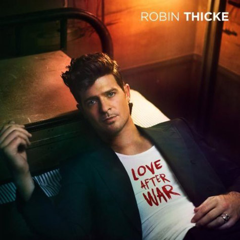 Robin Thicke Love After War Single Cover