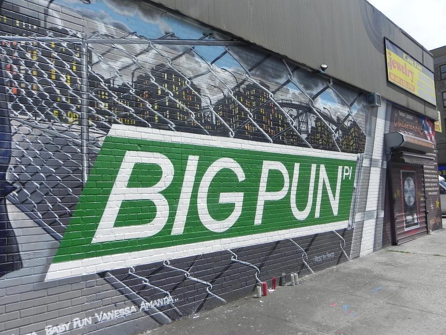 Bp2 for Big pun mural bronx