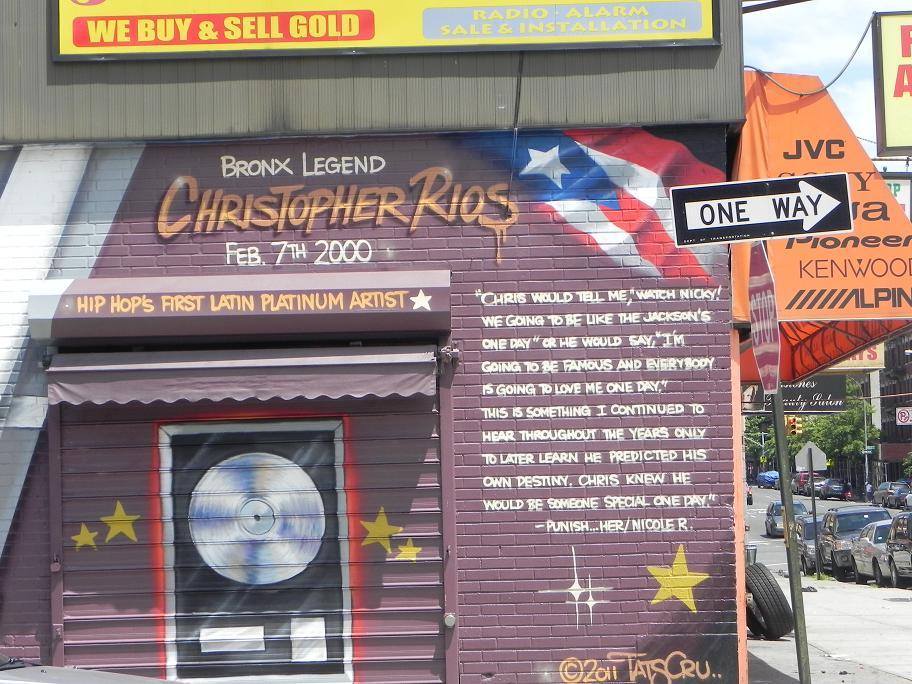 Bp5 for Big pun mural bronx