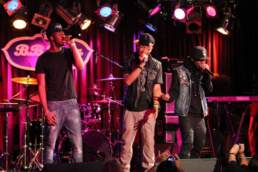 Project 718 Live BB Kings Nov 2011