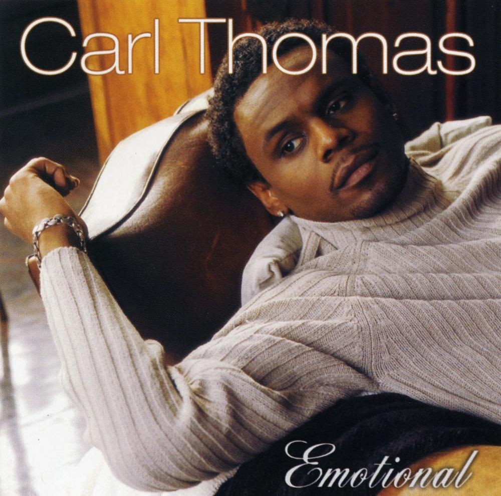 Carl thomas emotional album cover for Classic house songs 2000