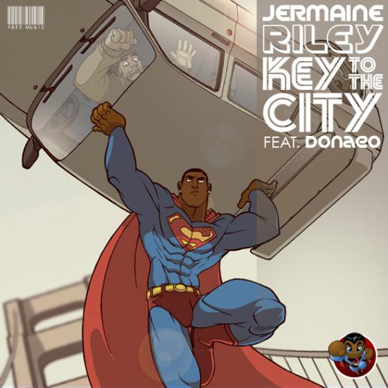 Jermaine Riley Key to the City