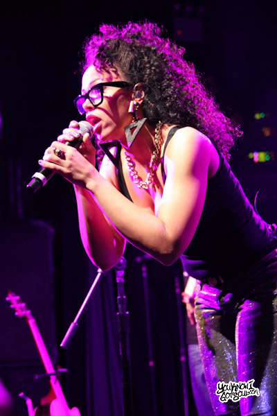 Elle Varner BET Music Matters Irving Plaza Feb 2012