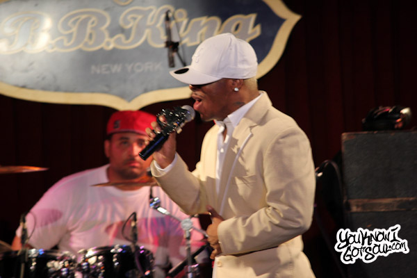 Sisqo Dru Hill Live BB Kings Jun 2012