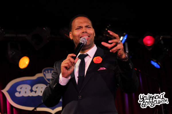 Eric Roberson Live BB Kings Jun 2012