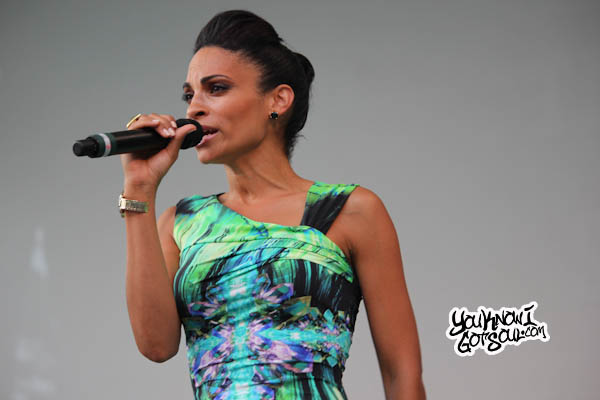 Goapele Live NYC Central Park Summerstage Aug 2012