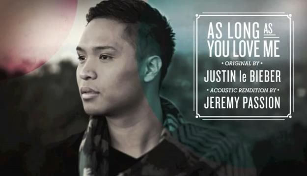 Jeremy Passion As Long as You Love Me