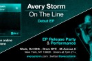 "Avery Storm Set to Release Independent Debut EP ""On the Line"" October 16th"