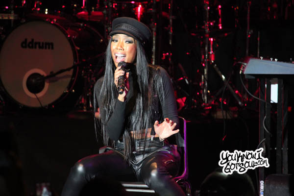 Brandy Live Best Buy Theater Oct 2012