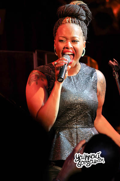 Chrisette Michele BB Kings 2012-13