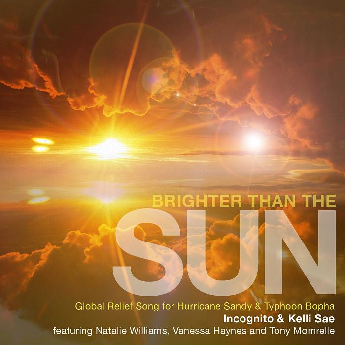 Brighter Than The Sun - cover art