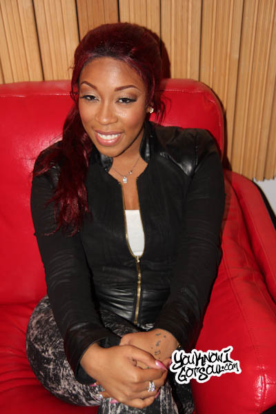 K Michelle 2013 K  Michelle has never been shy