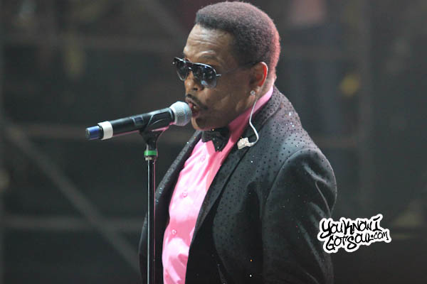 Charlie Wilson Jazz in the Gardens 2013-2