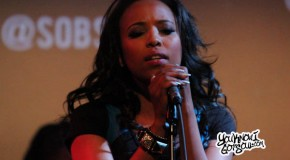 "Coline Creuzot Performing ""You"" Live at Sol Village"