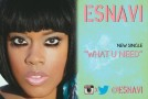 "Esnavi ""What U Need"""