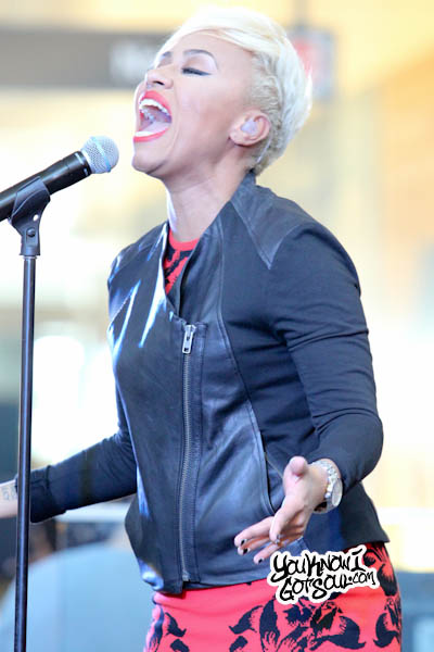 Emeli Sande JFK Jet Blue Live from T5 2013-8