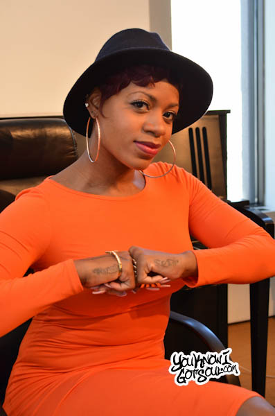 Fantasia YouKnowIGotSoul 2013 1 Interview: Fantasia Breaks Down New Album, Talks Rock Soul Movement and Emotion in her Music