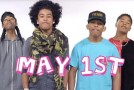 Lukes James, Jacob Latimore, Mindless Behavior, Eve & More Join WAT-AAH! Foundation's PSA Against Childhood Obesity