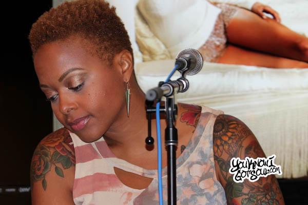 Chrisette Michele Better Listening Session 2013-1