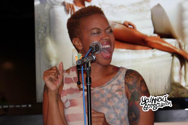 Chrisette Michele Better Listening Session 2013-2