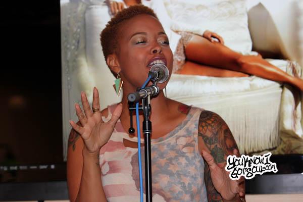 Chrisette Michele Better Listening Session 2013-3