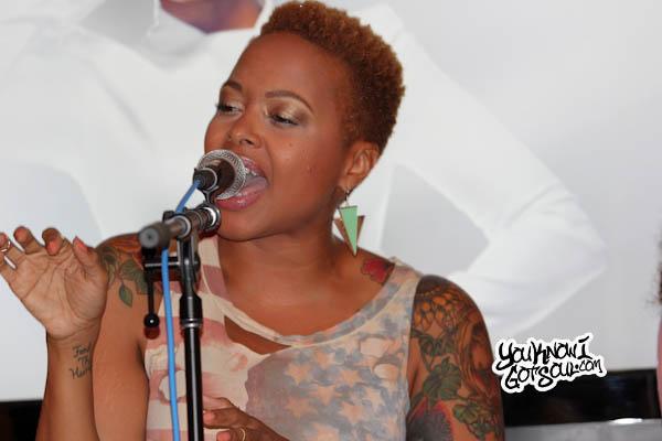 Chrisette Michele Better Listening Session 2013-4